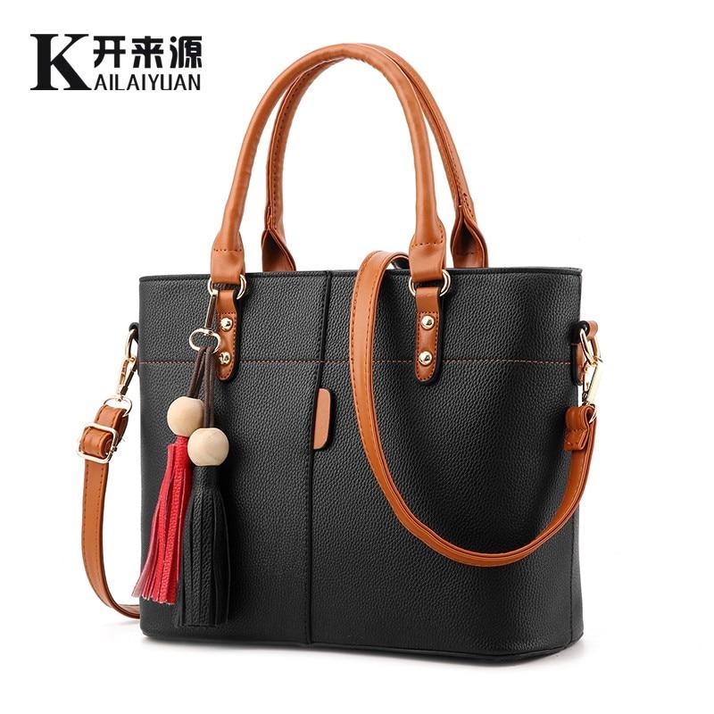 KLY 100% de cuero genuino bolsos de las mujeres 2019 nuevo bolso de moda coreana femenina bolso dulce en forma bolso de hombro