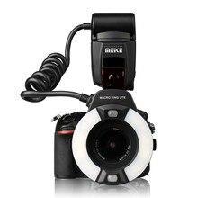Meike MK 14EXT i TTL Macro Ring Flash per la Macchina Fotografica Nikon D850 D7500 D810 D80 D800 D90 D5 D4 D600 con LED Lampada di Aiuto AF