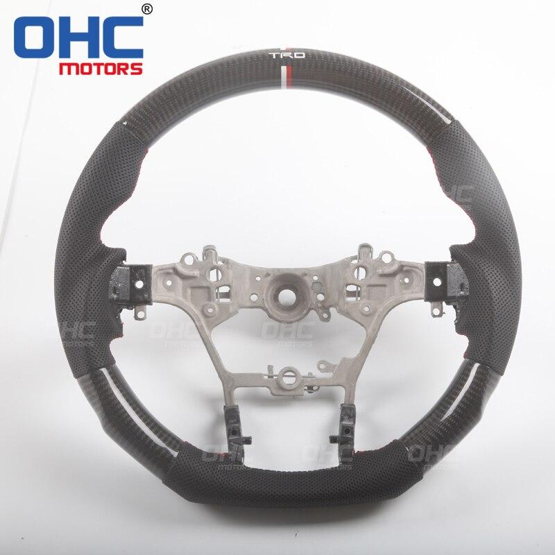 Настоящий руль из углеродного волокна для Toyota Hilux Revo/Fortuner/Innova