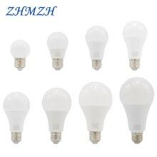 220 В светодиодный светильник 3 Вт 6 Вт 9 Вт 12 Вт 15 Вт 18 Вт 20 Вт лампа E27 ультра яркость энергосберегающая настольная лампа Светодиодная лампа для люстры