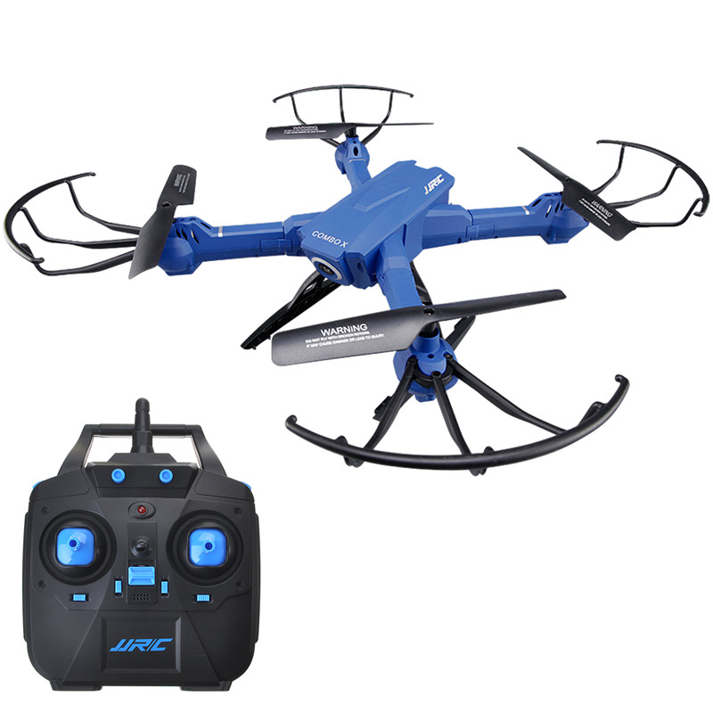 Quadcopter Drone-JJRC H38WH 2.4G 4CH Four-axis aircraft RC WIFI 3D Rotation Helicopters Remote Control Drone Toys with camera jjrc h3 1 2 in 1 rc drone four wheel car no camera