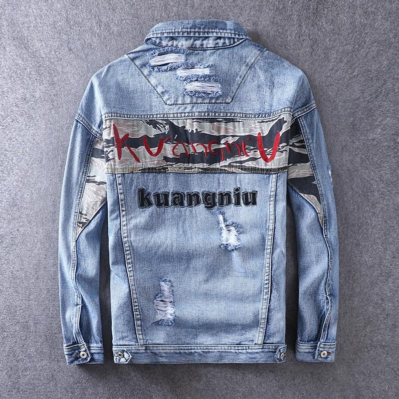 2019 Jaqueta Masculina Male Biker Jacket Pilot Leather Jacket Sheepskin Coat For Men Slim Zipper Genuine