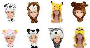 Детская плюшевая шапочка в виде животного для костюмированной вечеринки, для взрослых, для детей, для костюмированной вечеринки, шапка, мил...
