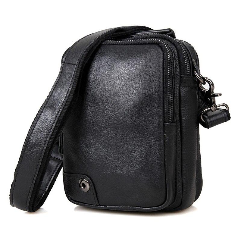 Здесь продается  Business Travel Black Crossbody Bag Small Brand High Quality Cow Leather Casual Vintage Mini Ipad Messenger Shoulder Bags   Камера и Сумки