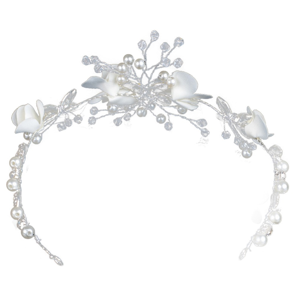 Headdress Beading Girls Hair Accessories Ceremony Party Wedding Alloy diamond butterfly hairband