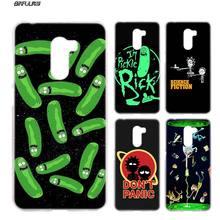 97611c3b39 BiNFUL Pickle Rick y morty para Xiaomi Pocophone F1 6,18 pulgadas de  plástico duro