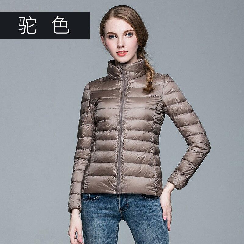 ba0c11aa1d4 Omlesa 2017 New Autumn Winter man Duck Down Jacket Ultra Light Thin Plus  Size Spring Jackets Men Stand ...