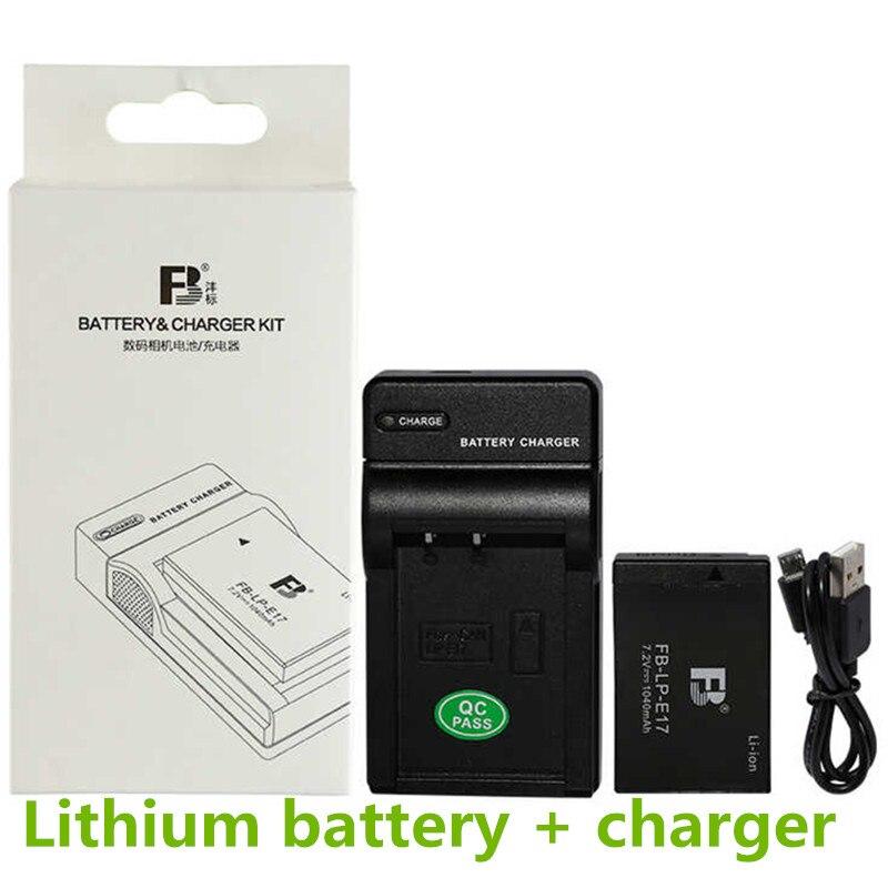 LP-E17 Li-ion Batterie pack LPE17 Numérique Caméra Batteries Est Livré avec USB chargeur E17 Pour Canon EOS M3 M5 750D 760D T6i T6s 8000D