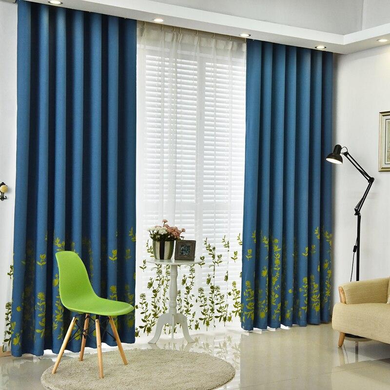 urijk estilo de moda de lujo cortinas para la sala de estar moderna cortinas