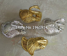 Free shipping Swan Wedding Candy Box 12PCS/LOT elegant wedding favor box(China)