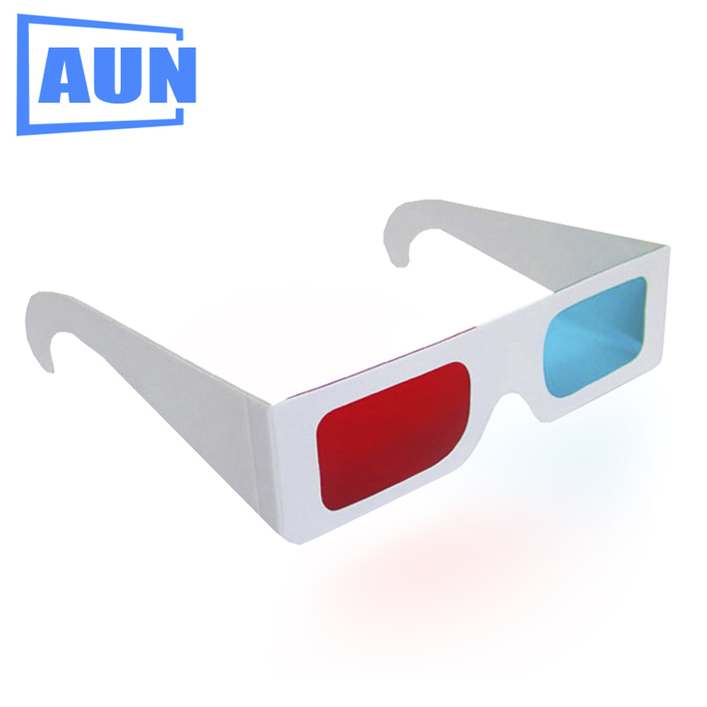 AUN Simple Blue Red 3D Glasses for AUN LED Projector