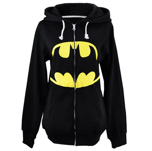 Hot Style Mens Autumn New Hooded Jackets New Cool Batman Sweatshirt Black Hoody for Sale 2014