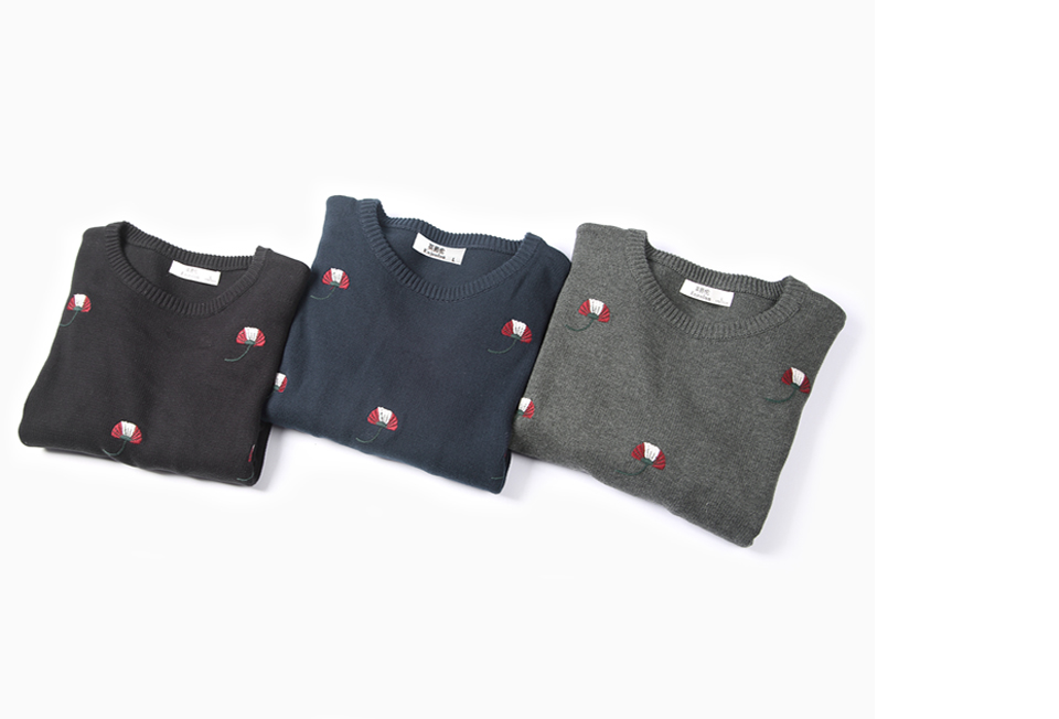 HTB1pdSWXorrK1RkSne1q6ArVVXai - Enjeolon brand top fall winter warm knitted pullovers Sweater man 100 Cotton pattern pullober o-neck pullover Sweater men MY3227