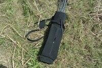 Outdoor Hunting Back Arrow Quiver Archery Bow Arrow Holder Belt Bag Arrows Bow Quiver Single/Shoulder Arrow Bag