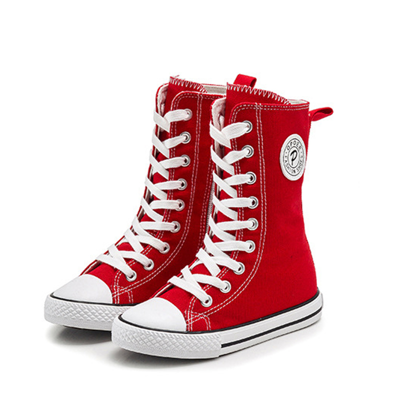 Kids Shoes for Girls Boys High Canvas Shoes Children Sneakers 2017 Autumn Casual Shoes for Big