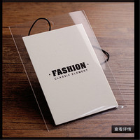 Customization Production Free Design Clothing Tags With Rope
