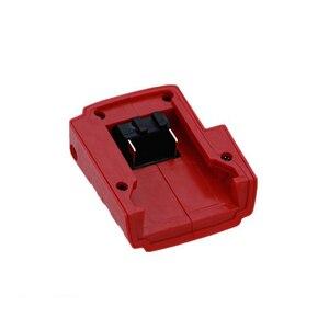 Image 4 - USB bağlantı noktası pil şarj cihazı adaptörü adaptörü Milwaukee 49 24 2371 M18