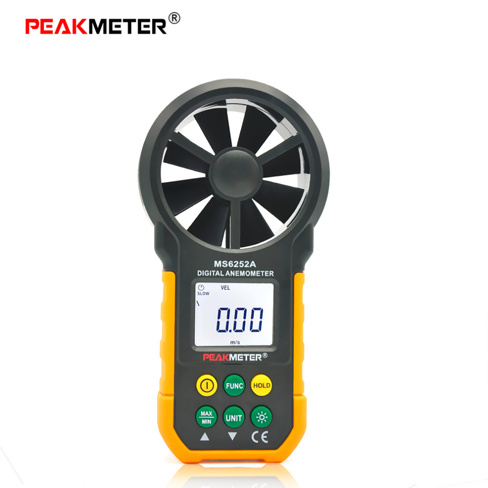 1pcs Hot LCD Digital Anemometer Wind Speed Meter Air Flow Tester Backlight  Brand New  цены