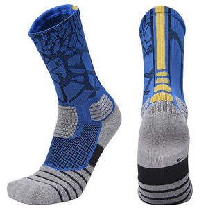 Image 3 - Brothock Professional basketball socks boxing elite thick sports socks non slip Durable skateboard towel bottom socks stocking