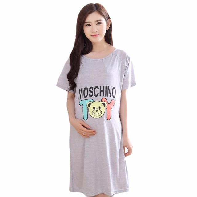 f62242a2056c1 Pajamas Maternity sleepwear pajamas maternity clothes for pregnant women  motherly nightgowns nursing tops breastfeeding shirt