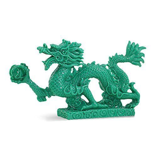 Feng Shui 9 Jade Green Dragon Base Statue Figurine Wealth Luck Gift US SellerFeng Shui 9 Jade Green Dragon Base Statue Figurine Wealth Luck Gift US Seller