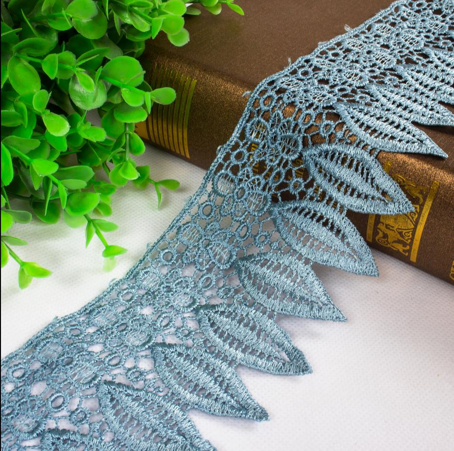 Direct selling curtain curtain accessories/home textile accessories boutique/leaf edge water soluble lace
