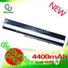 Bateria do Portátil para Asus X52j Golooloo A52f A52j K52d K52dr K52f K52jc K52je K52j K52n Nxm1b2200z A32-k52 A41-k52 A42-k52