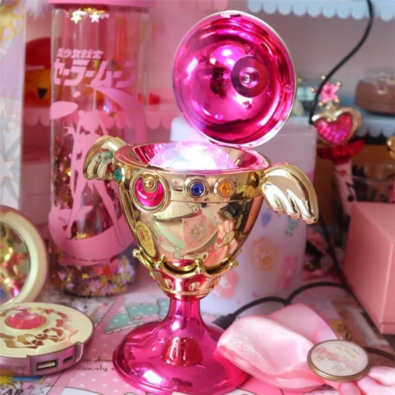 anime cardcaptor sakura CHOCOOLATE Sailor Moon Rainbow Moon Chalice Proplica humidifier figure