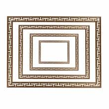 Декоративные линии цветочные деревянные наклейки с резьбой угловая аппликация рамка настенная мебель резьба по дереву деревянные фигурки ремесла дома 100 см