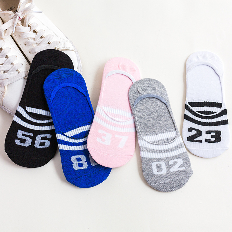 Colorful fruit Invisible Short Woman Sweat summer comfortable cotton girl women's boat   socks   ankle low female 1pair=2pcs ws172
