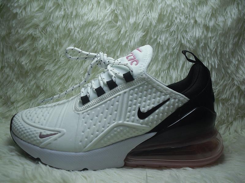Nike Air Max 270 D'origine Tissu Extensible Femmes de chaussures de course Nike Air Max 270 Femmes Authentique En Plein Air Respirant Designer
