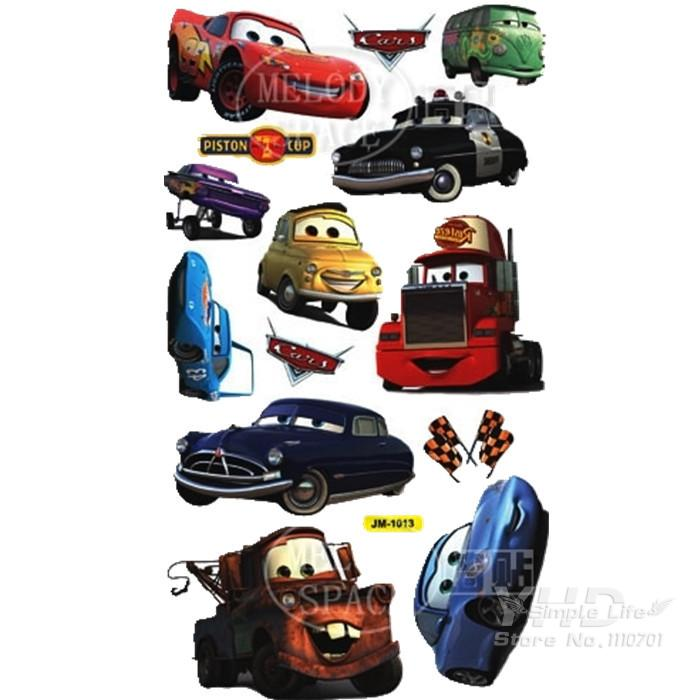 Cartoon Car Child Room Decoration Wall Stickers For Kids Rooms Boys Girl  Nursery Decor Wallpaper For Kids Baby Room Wall Sticker In Wall Stickers  From Home ... Part 79