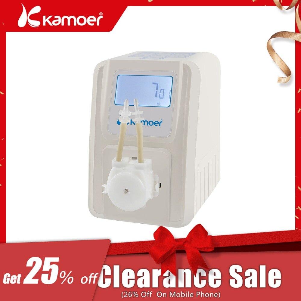 Kamoer KSP-F01A количество Регулируемый перистальтический насос (ЖК-дисплей, количество регулируемый, высокая точность, небольшой перистальтичес...