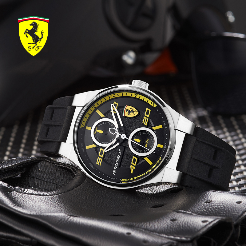 en quartz store ferrari redrev watches r official watch s men online scuderia ci