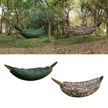 Ultra-light Full Length Camping Hammock Underquilt Under Quilt Blanket Sleeping Bag Cold Winter for Outdoor Hiking