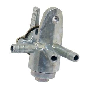 Image 2 - 3 웨이 페콕 연료 밸브 3 포트 페콕 연료 밸브 ATV 오토바이 먼지 자전거 등을위한 차단 스위치 0.24 인치 구멍 외경
