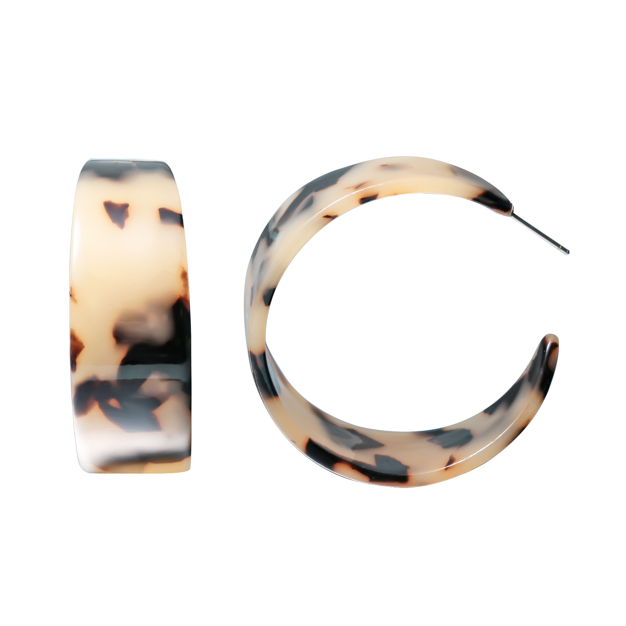 Vintage Jewelry Oversize Circle Hoop Earrings For Women Round Geometry Earings Fashion Jewelry Gifts Pendientes Mujer Moda 2018 in Hoop Earrings from Jewelry Accessories