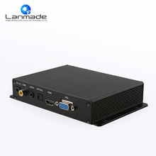 Professional Metal Box Optical Vga output USB SD card digital signage media player