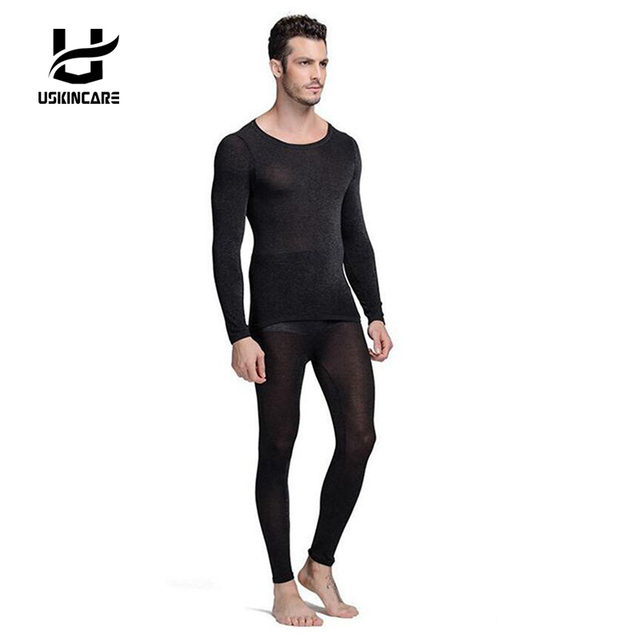 6990cf7507a Seamless Winter 37 Degree Men Slimming Warm Thermal Underwear Ultrathin  Heat Long Johns Super Elastic Thin Body Suit For Homme