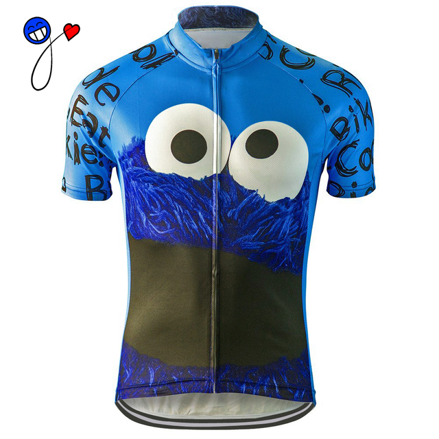 9cd17f101 NEW men 2018 cycling jersey ride bike eat Cookie riding pro racing team  wear clothing ropa ciclismo maillot ciclismo nowgonow