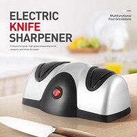 Electrical Knife Sharpener Professional Kitchen Knife Sharpener 2 Stage Kitchen Knife Sharpener For Knives Scissors Screwdrivers