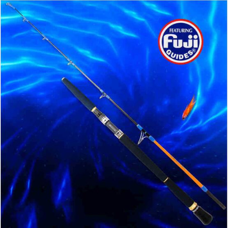 Tsurinoya 1.65m Full Fuji Parts Fishing Jigging Rod 98% Carbon Lure Weight 100-300g Spinning Fishing Rod Boat Rod EVA Handle цена