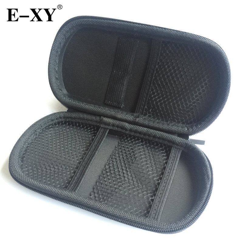 E-XY Vape Case Big Size Leather Bag For ego-t Ce4 Evod Electronic Cigarette Vapor Carry pliers Tool kits Bag with Zipper ce4 e ego t 650mah 900mah 1100mah ce4 ce4 kits