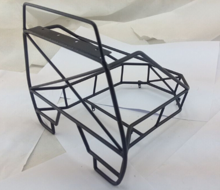 1/10 rock crawler rack Luggage Metal Roll Rolling Cage RC Frame ...