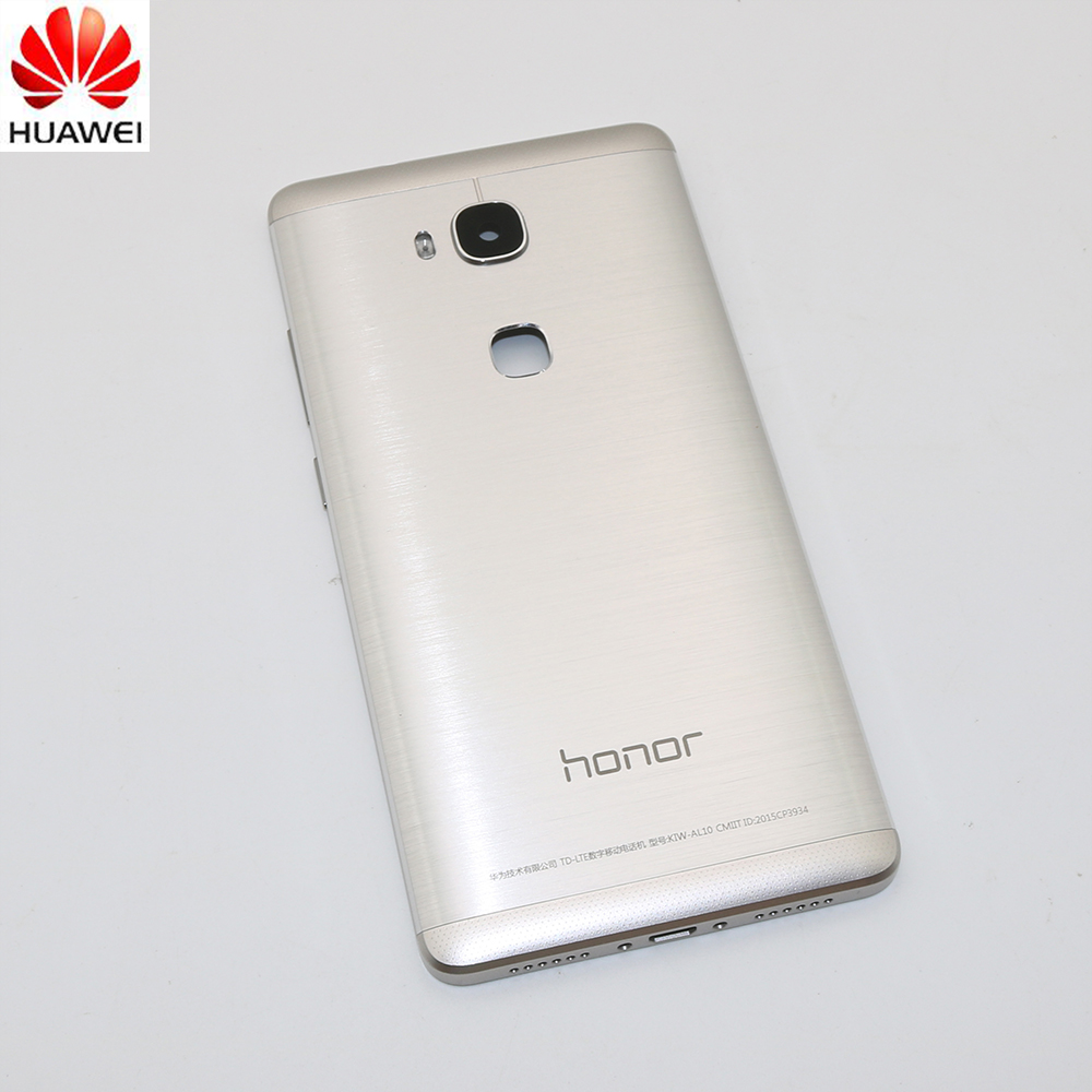 Housing-Case Back-Cover Battery-Door Huawei Honor Original for 5X X5 GR5 with Camera-Lens