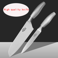 2017 Free Shipping MIKALA Stainless Steel Japanese Style Kitchen Knife Chef Slicing Knife Fruit Vegetable Knives