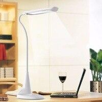 Folding Charging LED Desk Lamp Touch Sensor Switch Reading Lamp Modern Led Table Lighting Color Pink