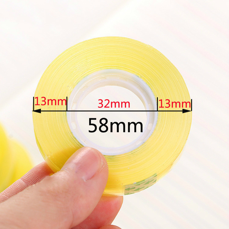 12mm*50m Scotch  5 Piece/Lot Hiagh Quality Decorative  Tape Stationery For School&Office School Supplies Wholesale Drop Shipping