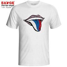 Show My Russian Tongue T-shirt Russia Patriot Flag Funny Design Fashion T Shirt Creative Vintage Print Pop Women Men Top flavor pendant azard patriot russia flag vanilla ar1pk006
