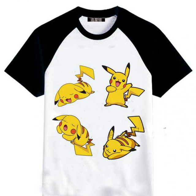 4b8c21823 Pikachu T Shirt Anime Pikachu Shirt For Woman Pokemon Tshirt Pokemon T-shirt  Women Costume Legendary Pokemons Figure